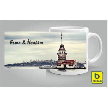 İstanbul Kız Kulesi Kupa Bardak
