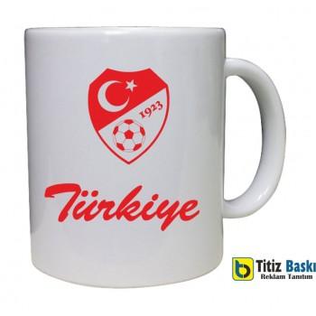 Türkiye Ayyıldız Baskılı Kupa Bardak
