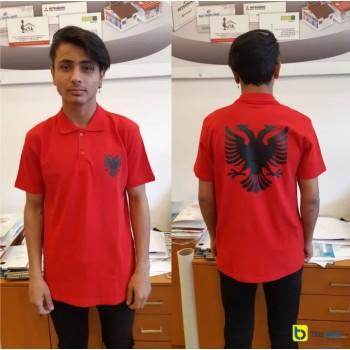 Albanian Flag tshirt