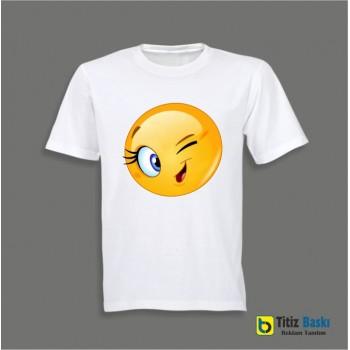 Emojili Tişört