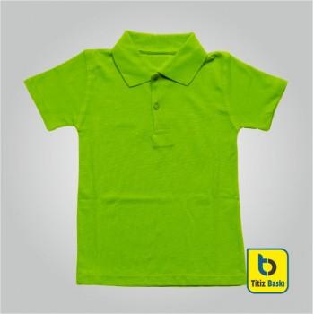 Yeşil Lacoste Çocuk Tişörtu