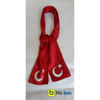 Türk Bayraklı Fular