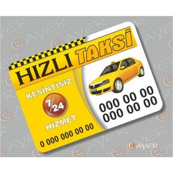 Taksi Magnet Modelleri