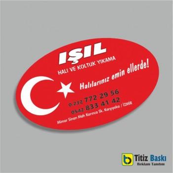 Türk Bayraklı Magnet